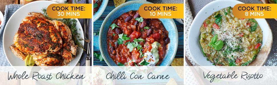 Crock-Pot,Pressure Cooker,Presure,Multi-Cooker,Slow-Cooker,Large,Digital,Recipe Book
