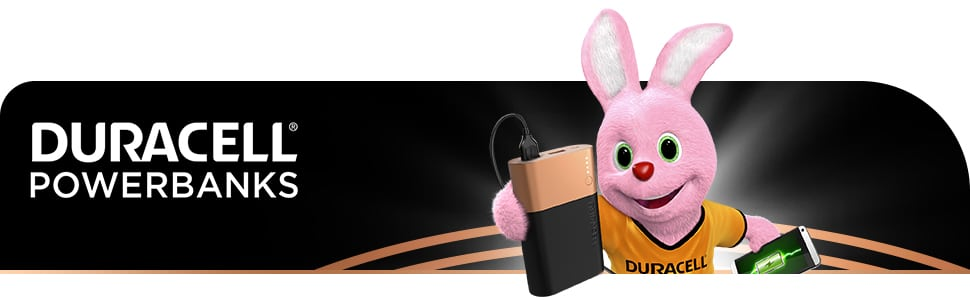 Duracell 10050 Banner Bunny