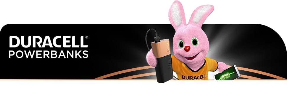 Duracell Powerbank Bunny Banner