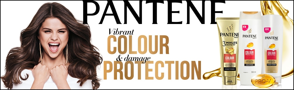 Pantene, panteen, colour protection, dyed hair, shampoo, conditioner, 3 minute miracle, shampoos
