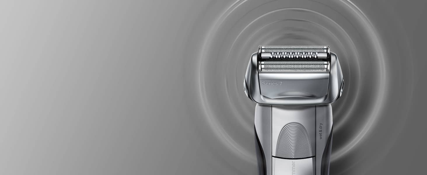 An innovative motor reads and adapts to even the densest beards more than 160x per second.
