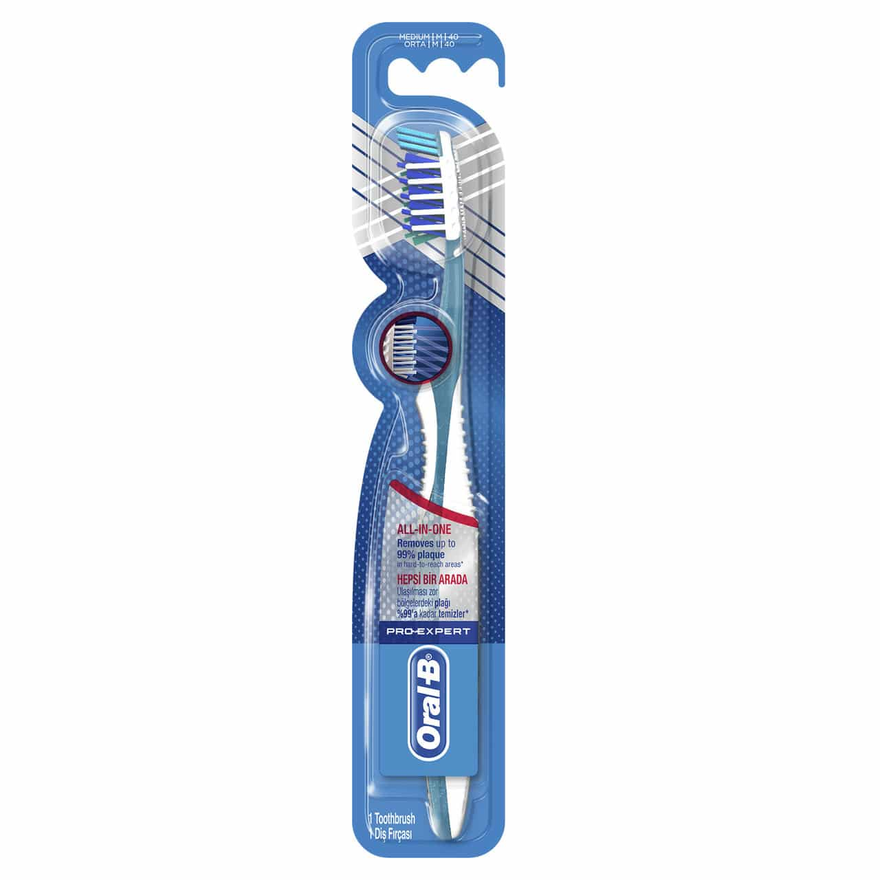 ORAL B TOOTHBRUSH EXPERT COMPLETE7 40MED