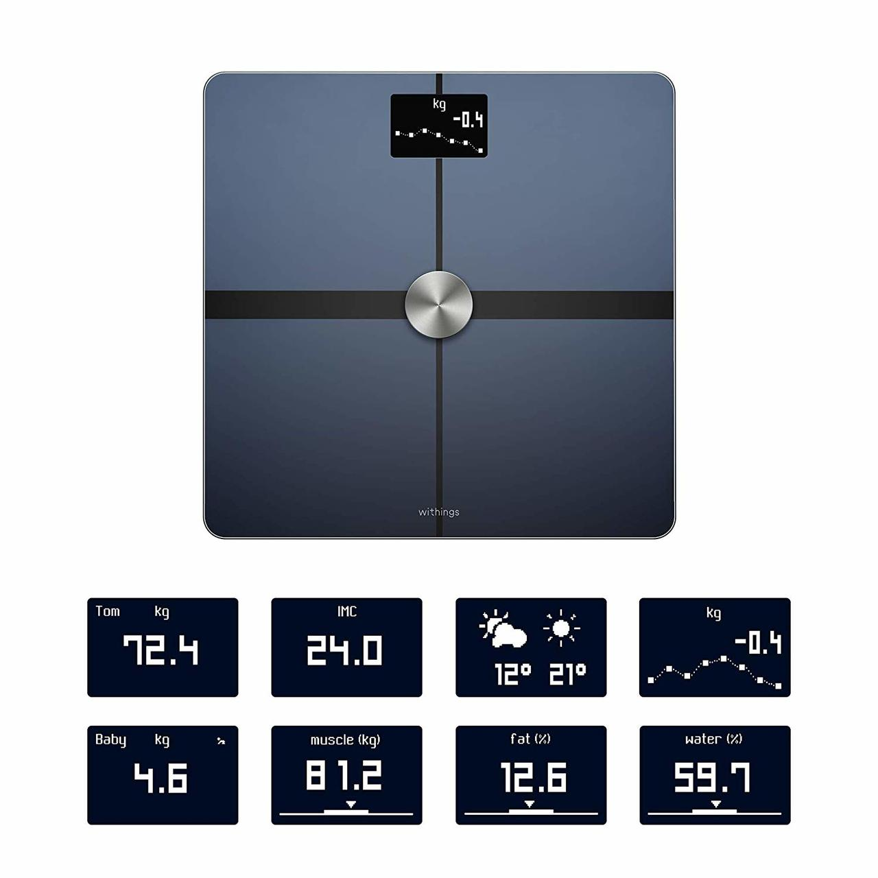 NOKIA BODY+ WEIGHING SCALE BLACK (NEW)