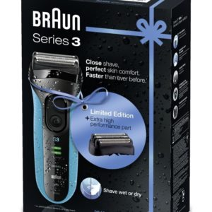 BRAUN SERIES 3 SHAVER 3040s + FREE COMBIPACK