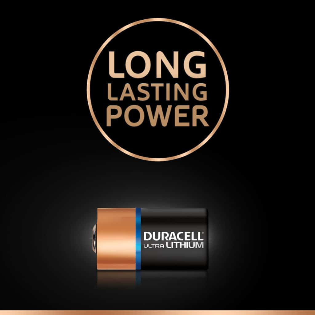 DURACELL HIGH POWER CR2 LITHIUM
