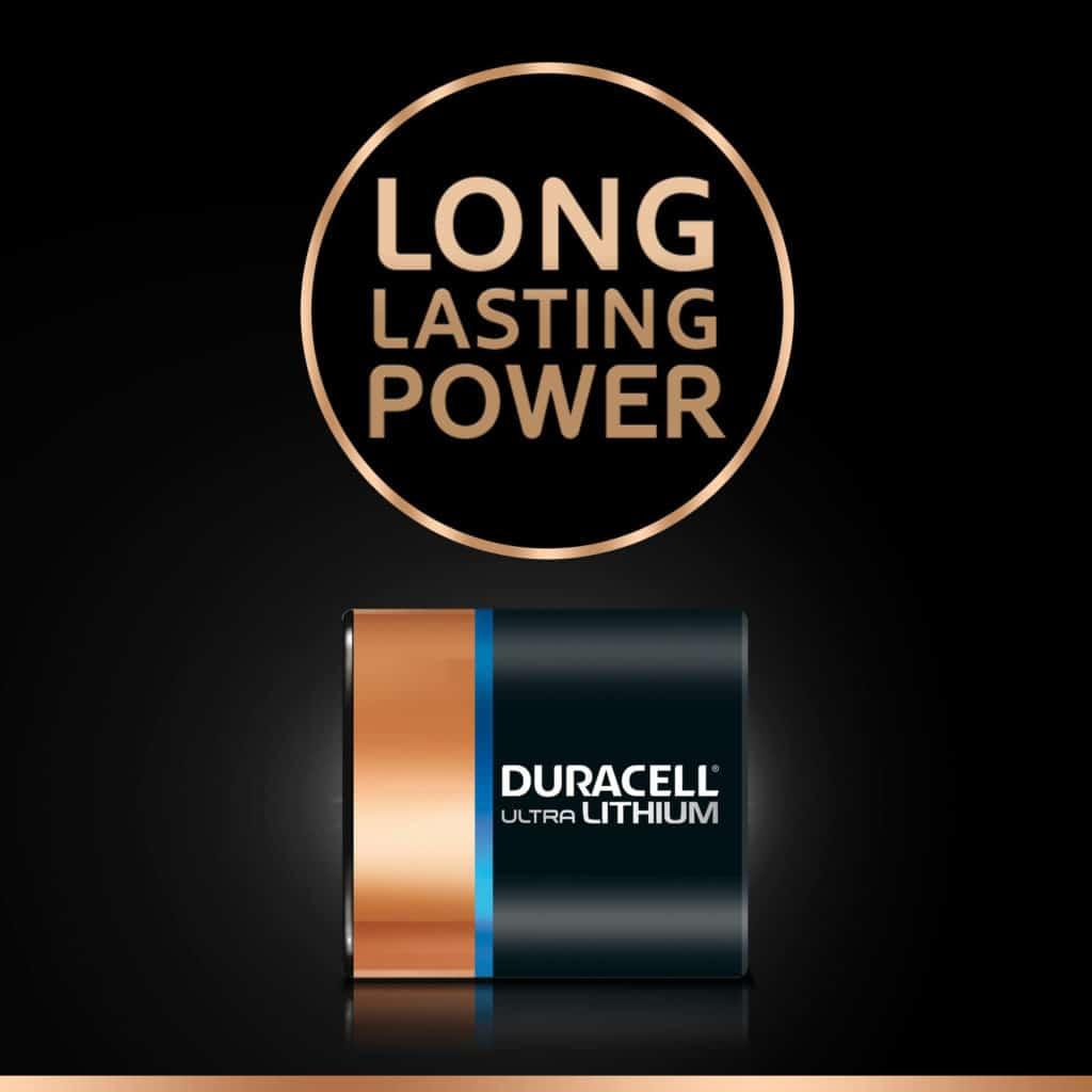DURACELL HIGH POWER 223 LITHIUM