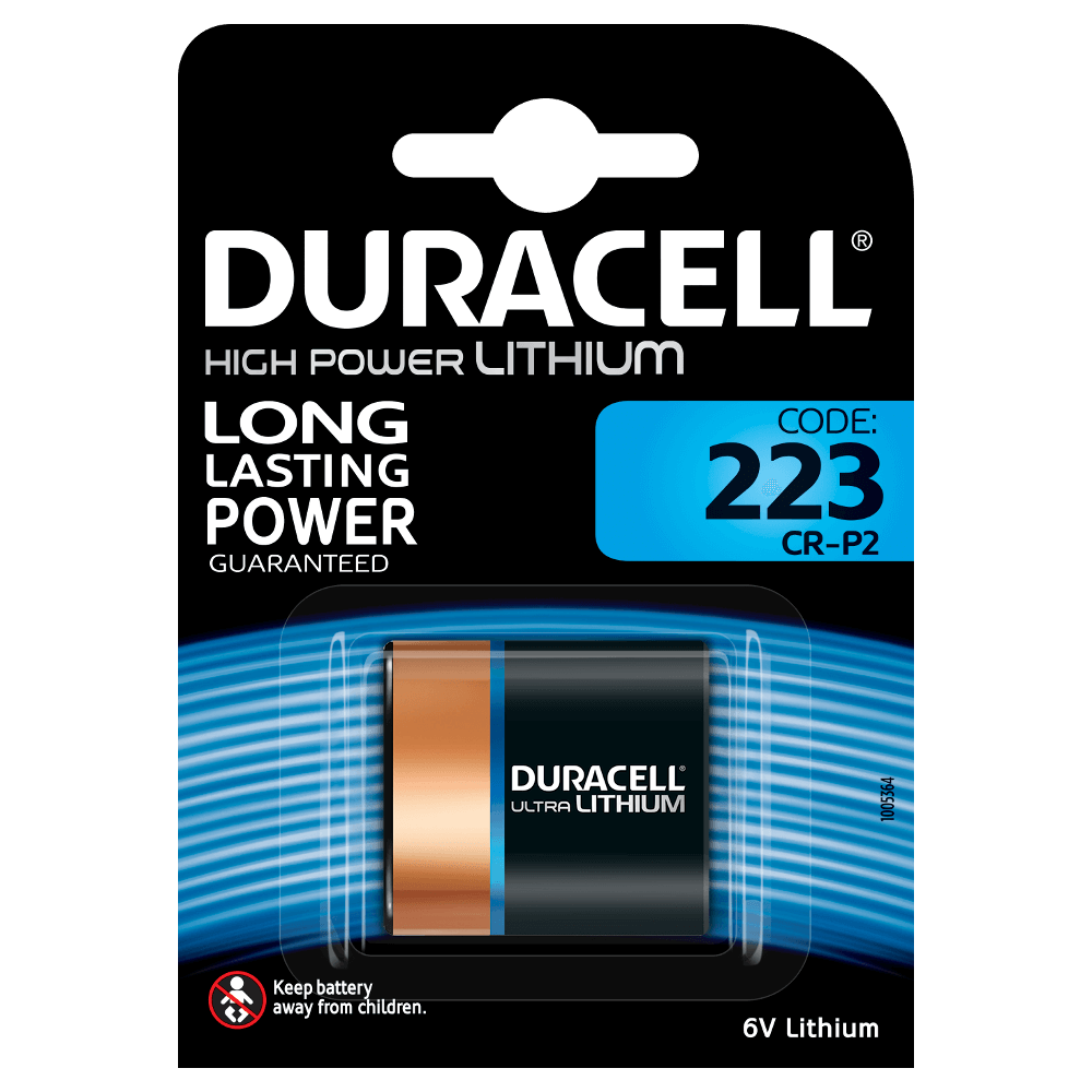 DURACELL HIGH POWER 223 LITHIUM