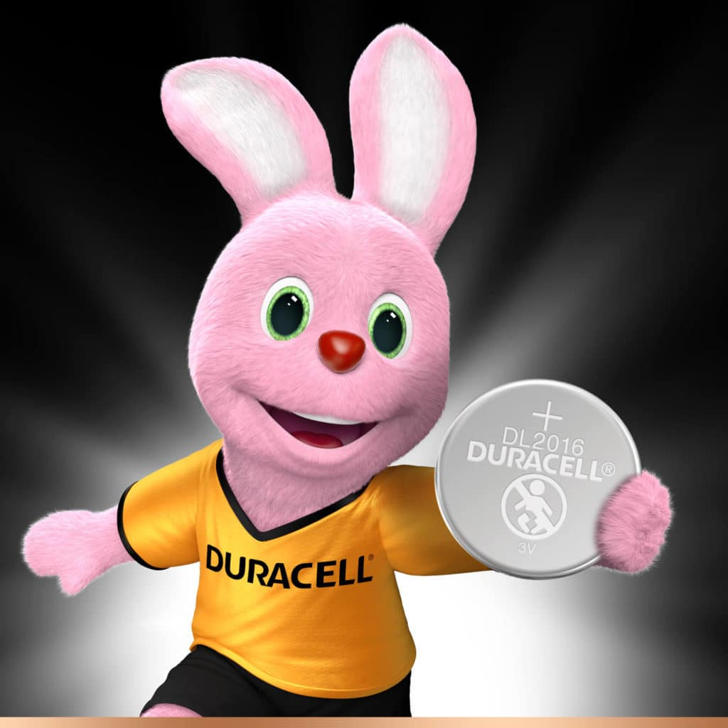 DURACELL SPECIALTY 2016 LITHIUM COIN (x2)