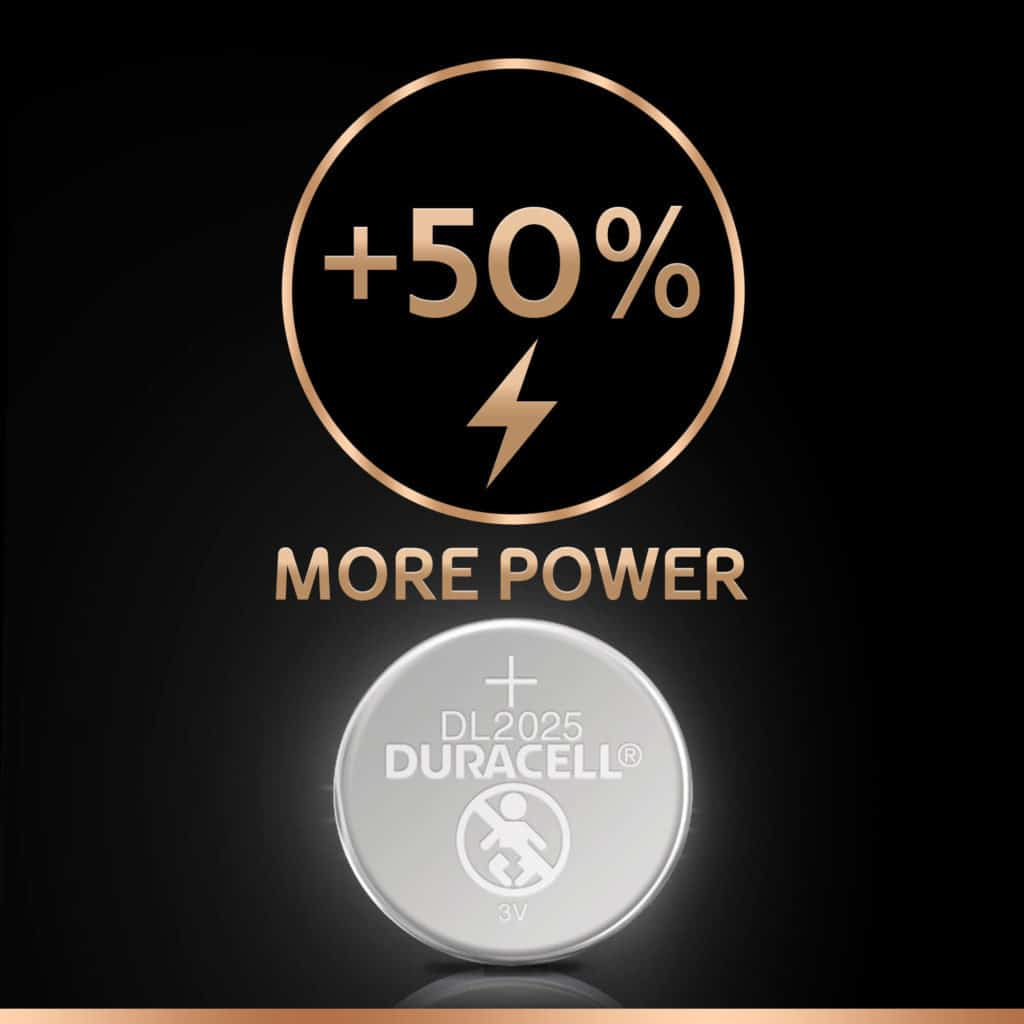 DURACELL SPECIALTY 2025 LITHIUM COIN (x2)