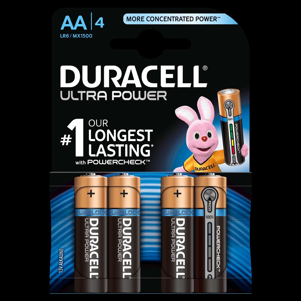 DURACELL ULTRA POWER AA (x4)