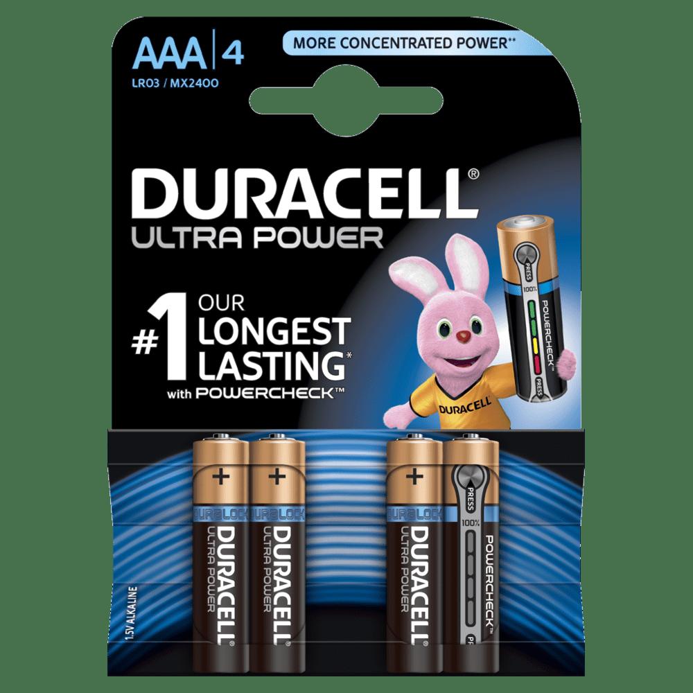 DURACELL ULTRA POWER AAA (x4)