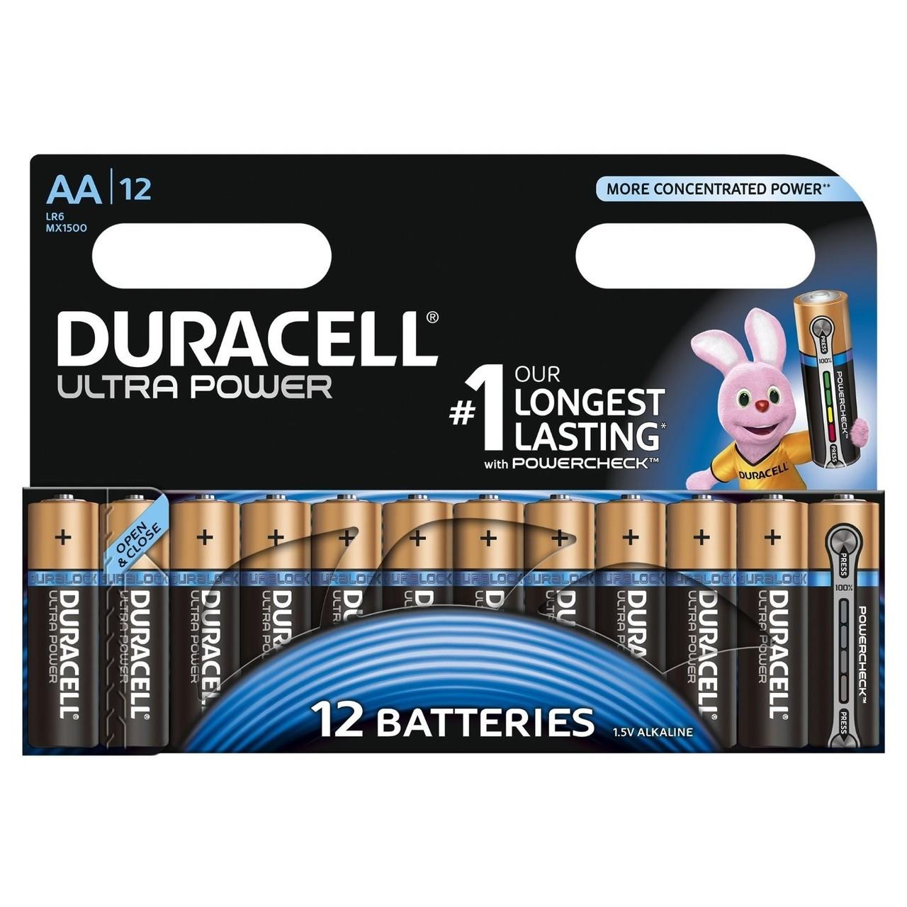 DURACELL ULTRA POWER AA (x12)