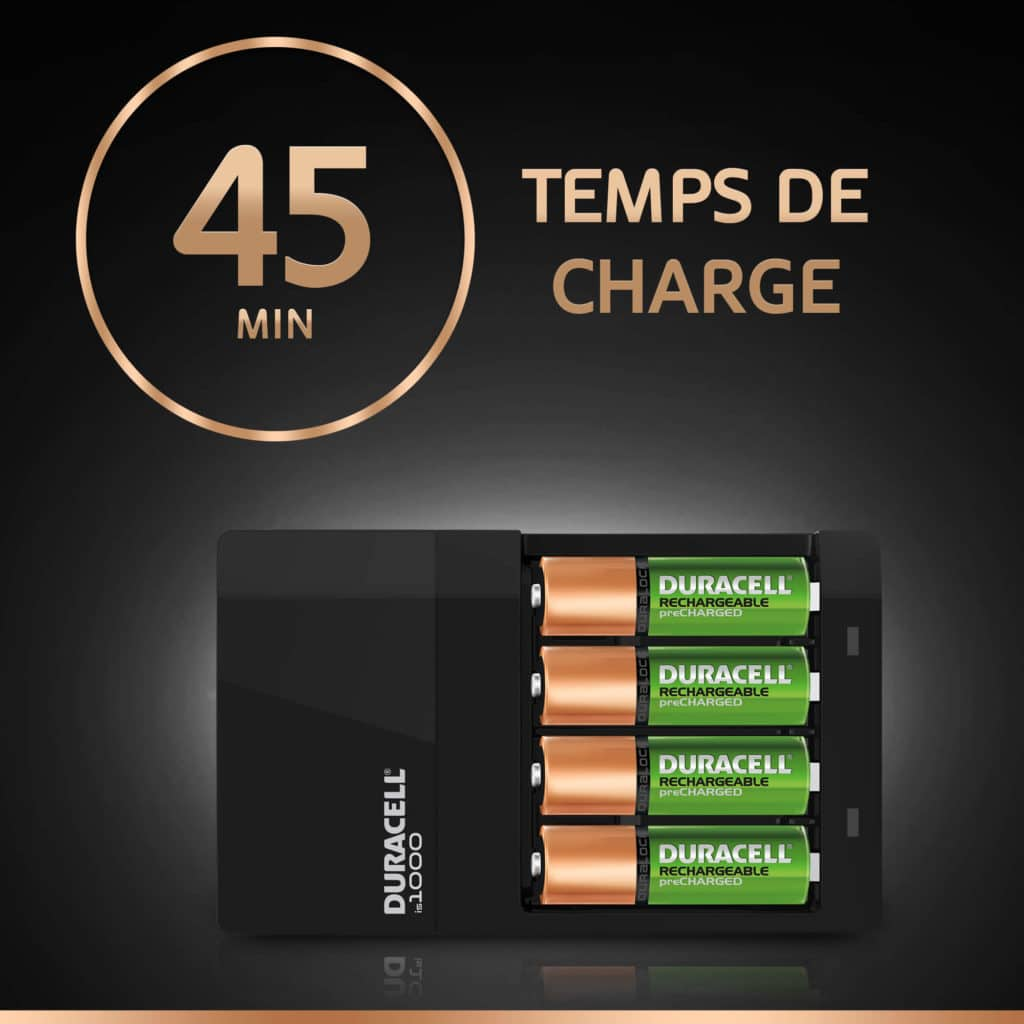DURACELL HI-SPEED 45 MINUTES VALUE BATTERY CHARGER