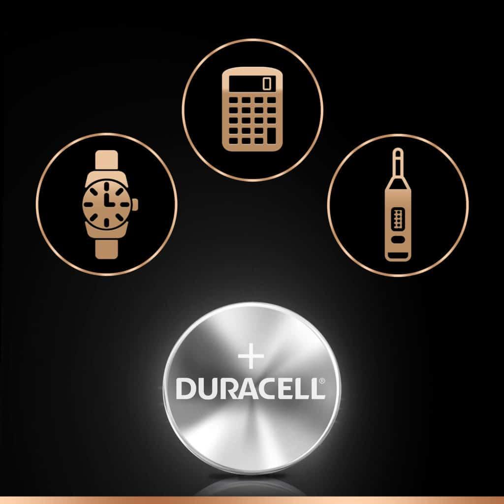 DURACELL WATCH 357/303 SILVER OXIDE (x2)