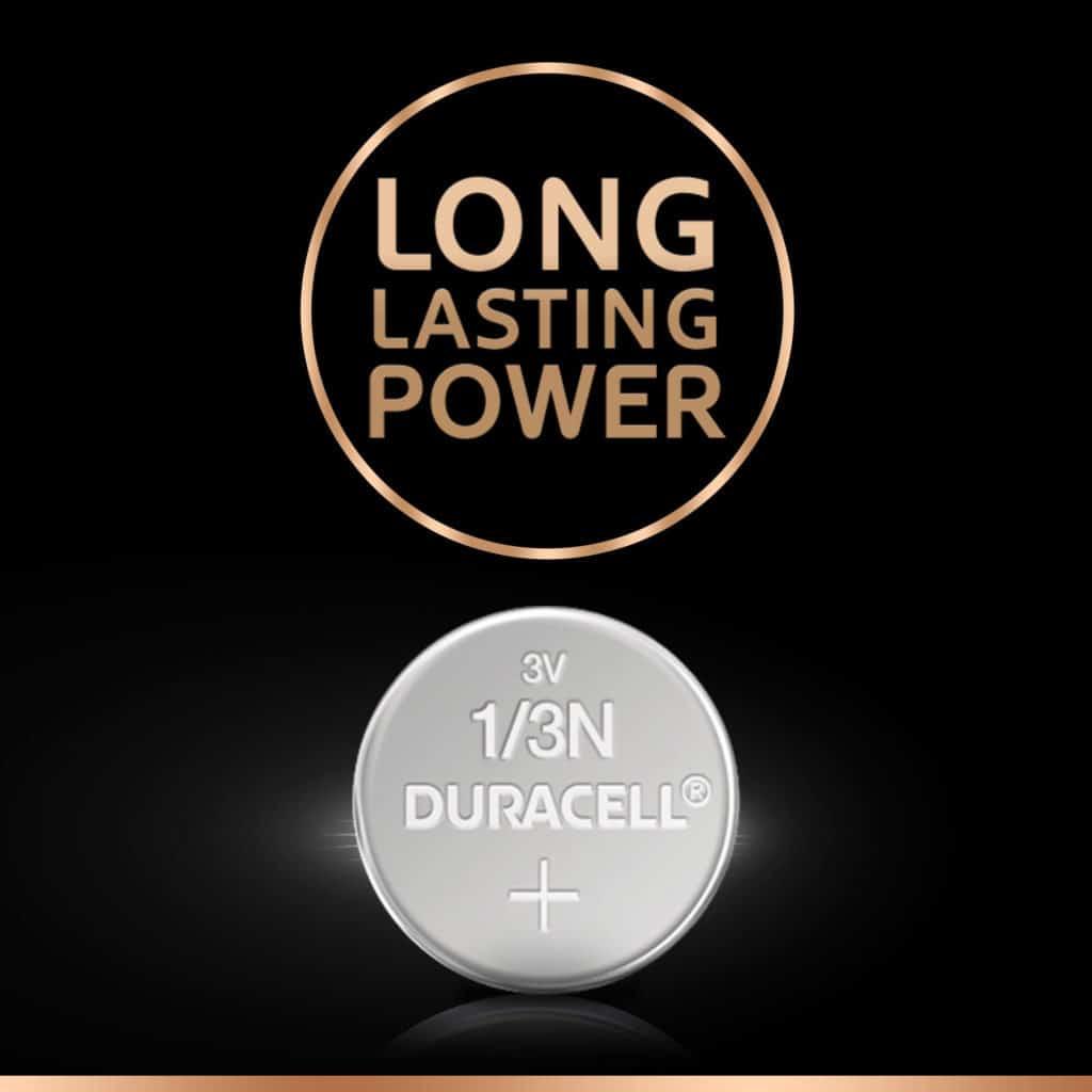 DURACELL HIGH POWER 1/3N LITHIUM
