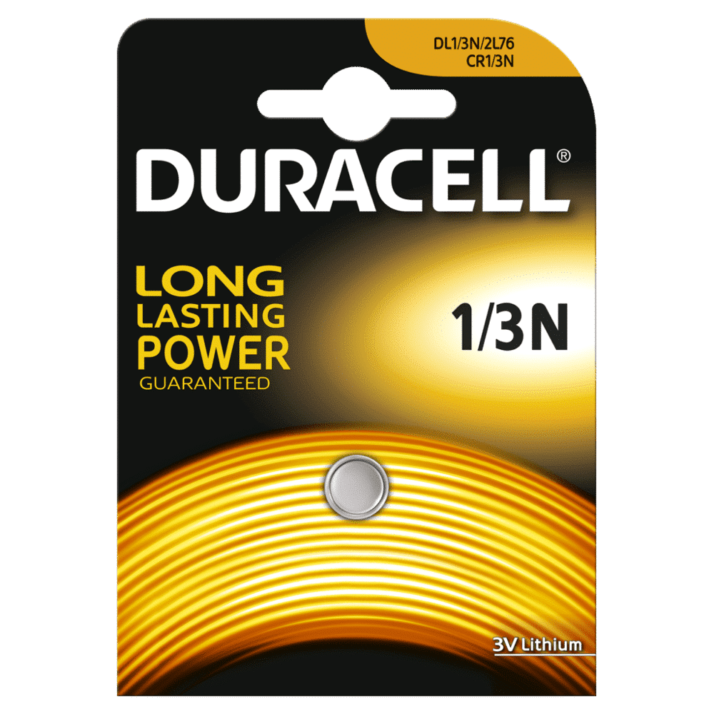 DURACELL HIGH POWER 1/3N LITHIUM