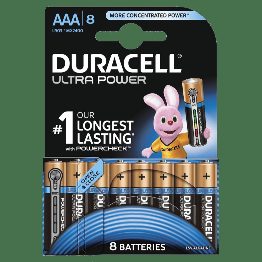 DURACELL ULTRA POWER AAA (x8)