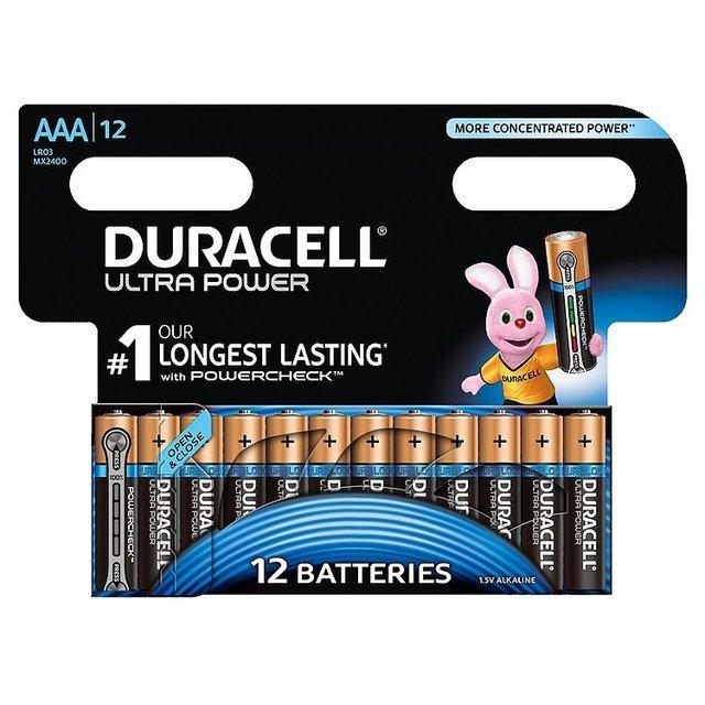 DURACELL ULTRA POWER AAA (x12)