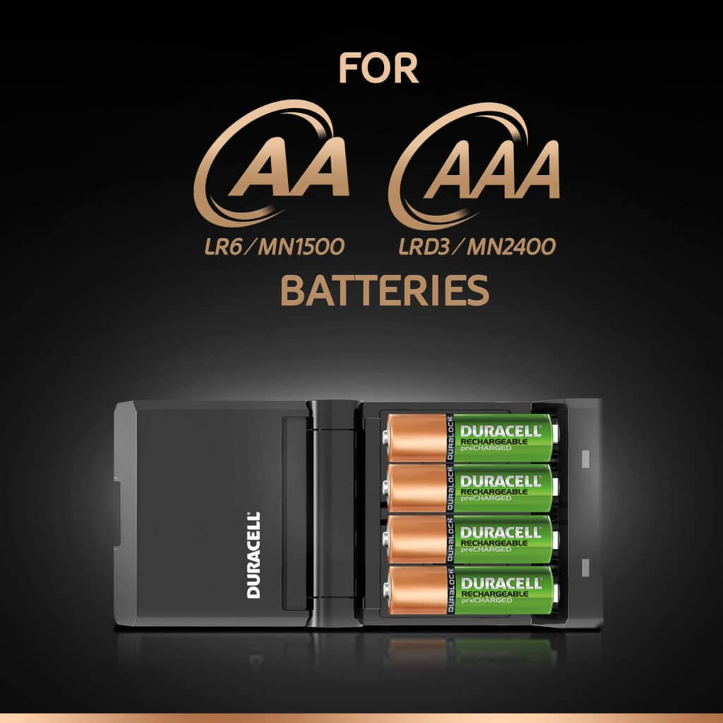 DURACELL HI-SPEED ADVANCED CHARGER