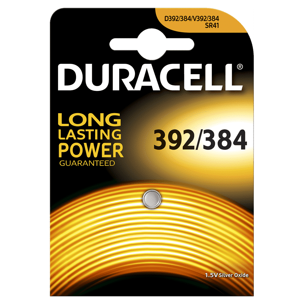 DURACELL WATCH 392/384 SILVER OXIDE