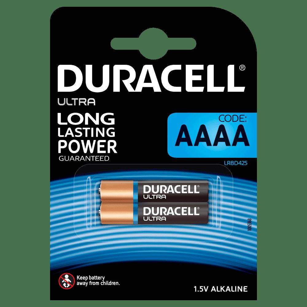 DURACELL MN2500 AAAA ALKALINE (x2)