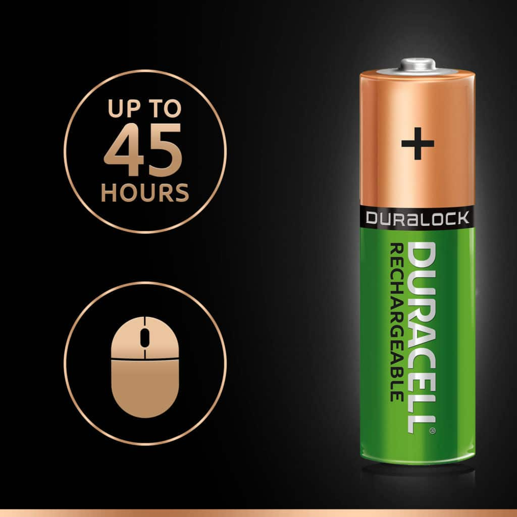 DURACELL RECHARGEABLE PLUS AA (x4)