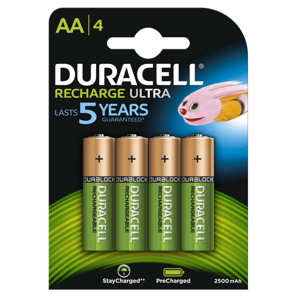 DURACELL RECHARGEABLE ULTRA AA (x4)