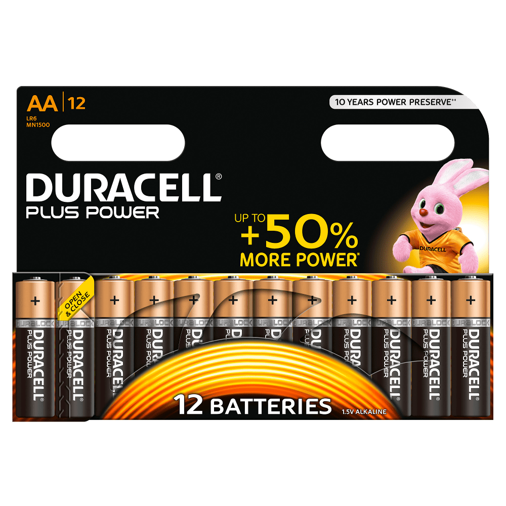 DURACELL PLUS POWER AA (x12)