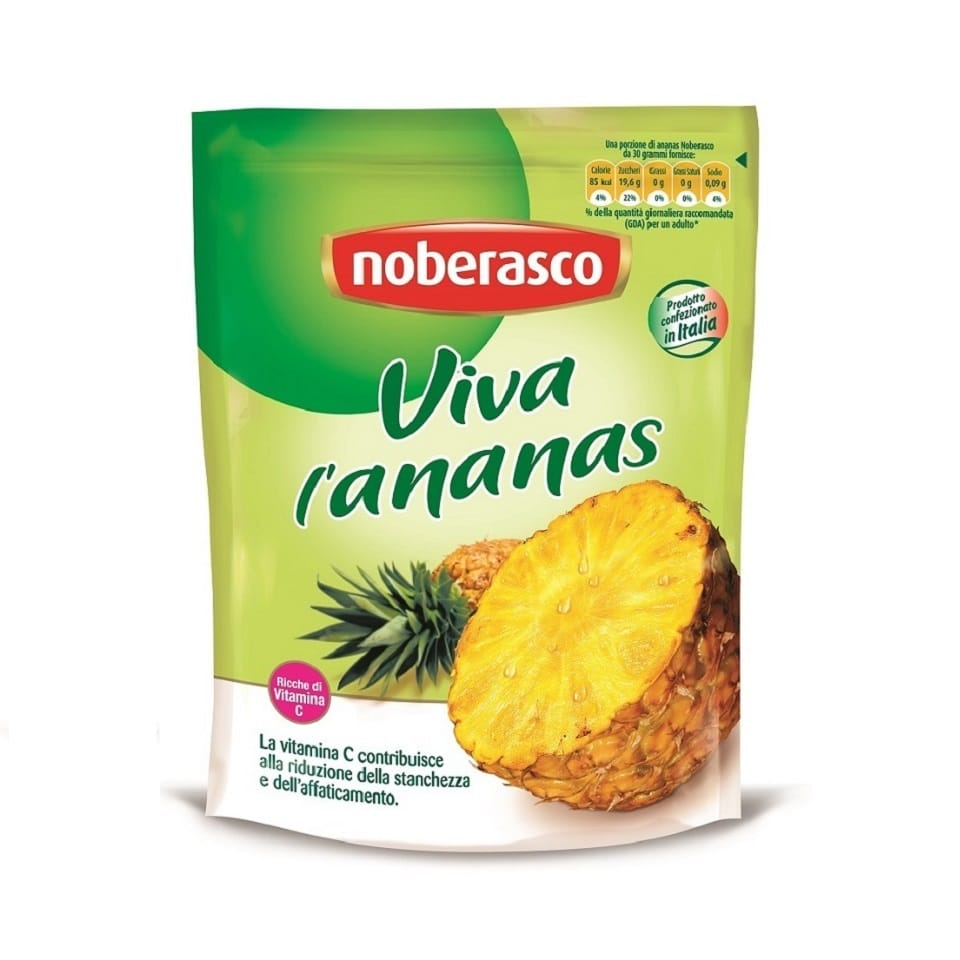 Noberasco Viva l'Ananas - Pineapple Chunks (200g)