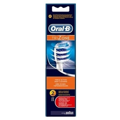 ORAL B POWER BRUSH HEAD TRIZONE (EB30) x2s