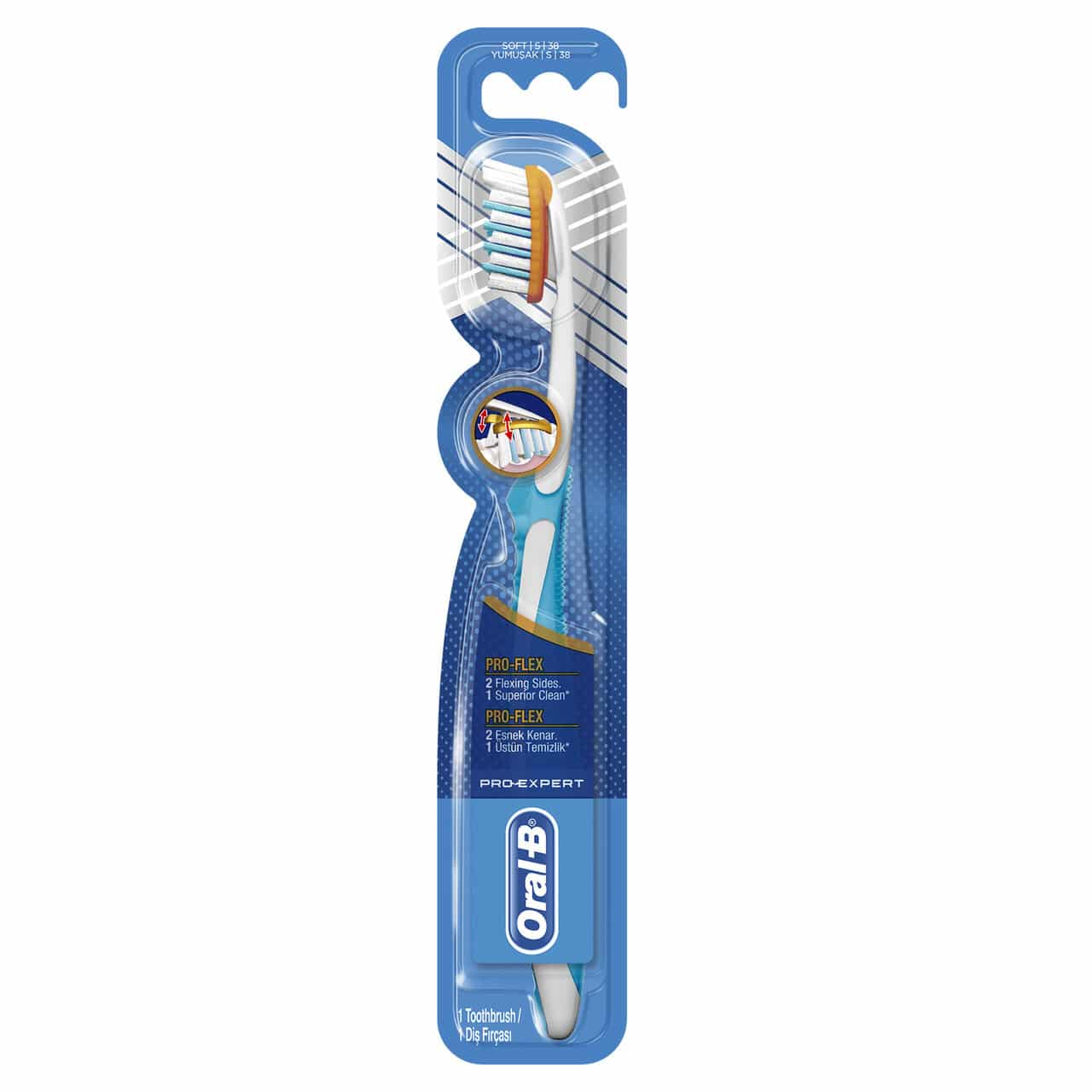 ORAL B TOOTHBRUSH PRO EXPERT CLINICAL 38SFT
