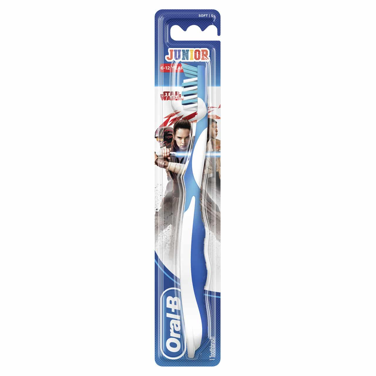 ORAL B TOOTHBRUSH STAGES 3 JUNIOR STARWARS (6-12YRS)