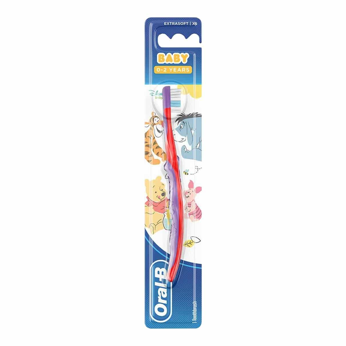 ORAL B TOOTHBRUSH STAGES 1 (0-2YRS)