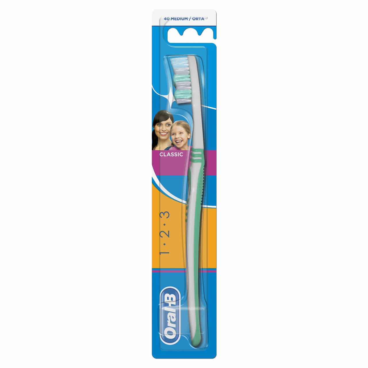 ORAL B TOOTHBRUSH CLASSIC 40MED