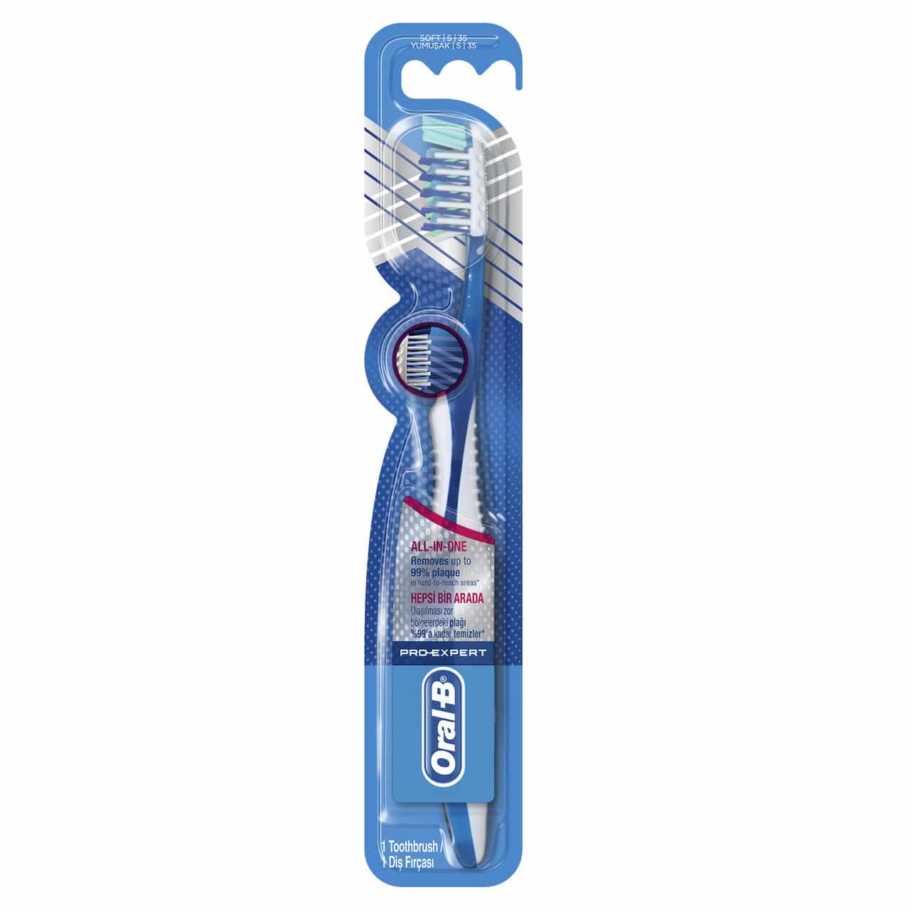 ORAL B TOOTHBRUSH EXPERT COMPLETE7 35SOFT