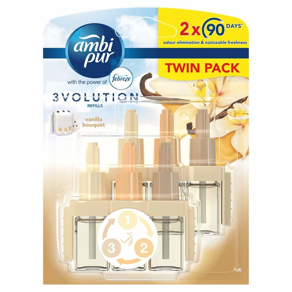 AMBI PUR 3VOLUTION TWIN REFILL VANILLA 2 X 20ML