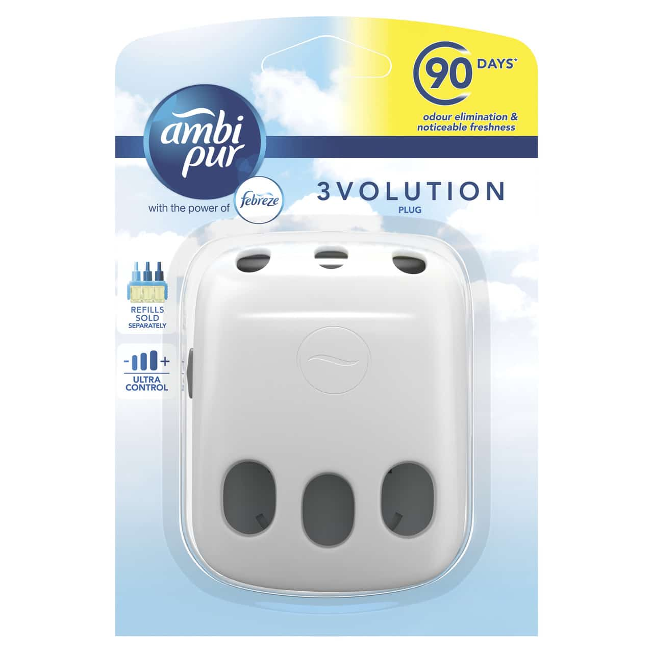 AMBI PUR 3VOLUTION AIR FRESHENER PLUG IN DIFFUSER