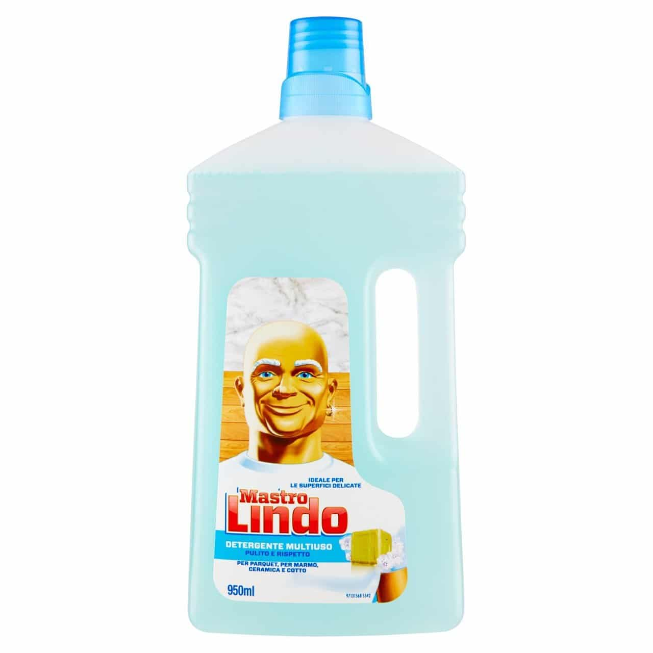 MASTRO LINDO MULTIPURPOSE DETERGENT BLUE LIQUID 950ML