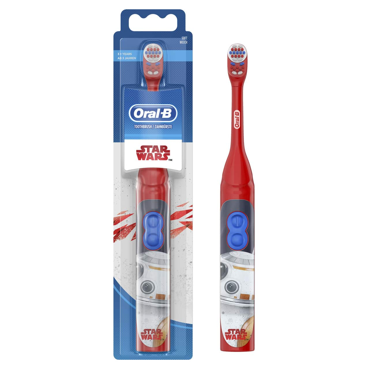 ORAL B POWER TOOTHBRUSH STARWARS KIDS - BATTERY