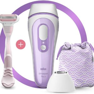 BRAUN SILK-EXPERT IPL PL3132 +HEAD +POUCH 300K FLASHES (NEW)