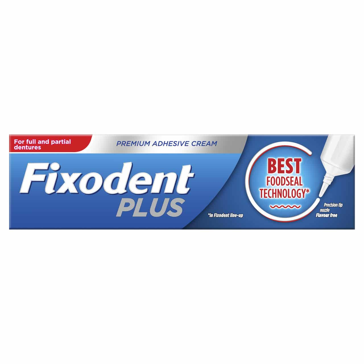 FIXODENT PLUS FOOD SEAL (40G) (NEW)