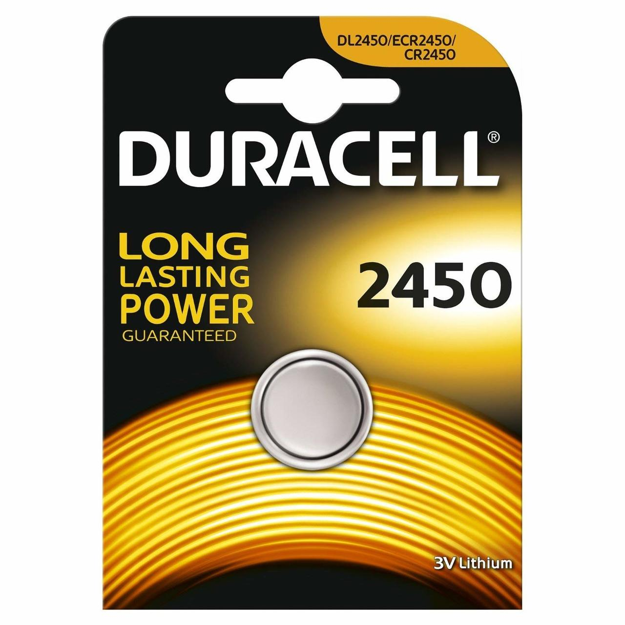 DURACELL SPECIALTY 2450 LITHIUM COIN
