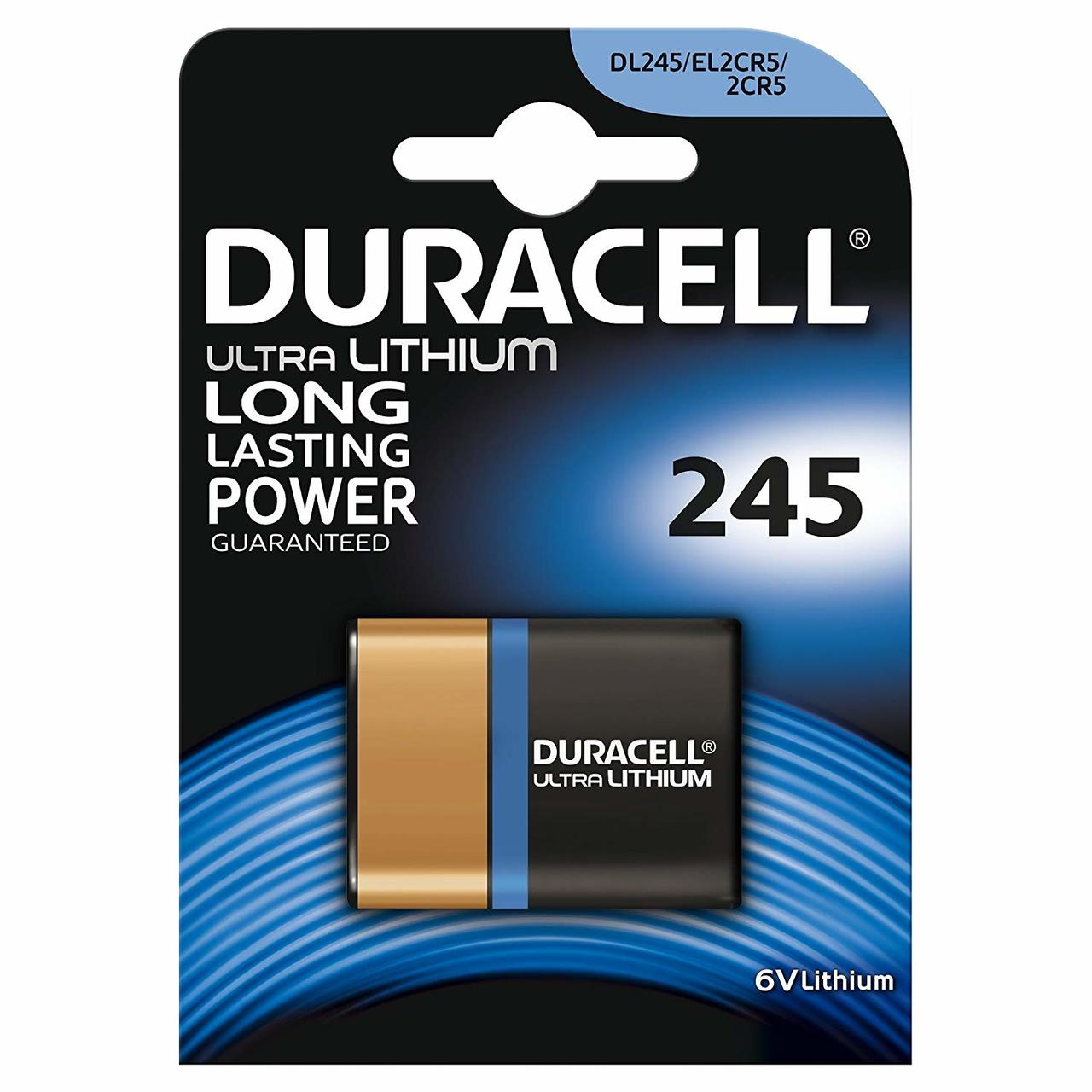 DURACELL ULTRA PHOTO LITHIUM 245 6V