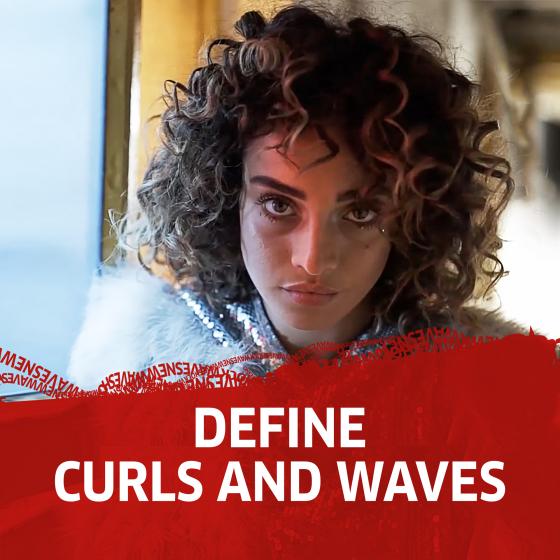 SHOCKWAVES MOUSSE CURLS & WAVES 200ML