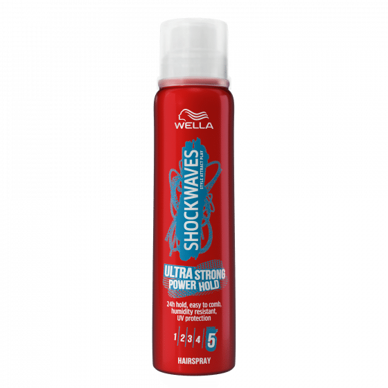 SHOCKWAVES ULTRA STRONG SPRAY POWER HOLD 250ML