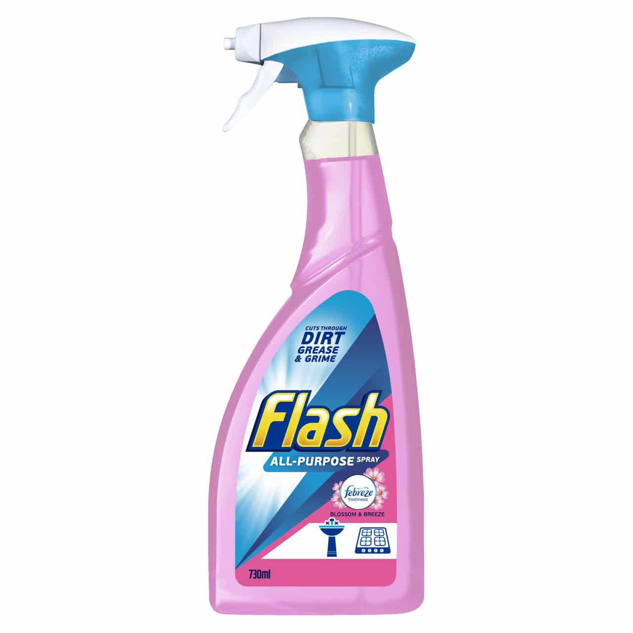 FLASH ALL PURPOSE SPRAY BLOSSOM & BREEZE 730ML