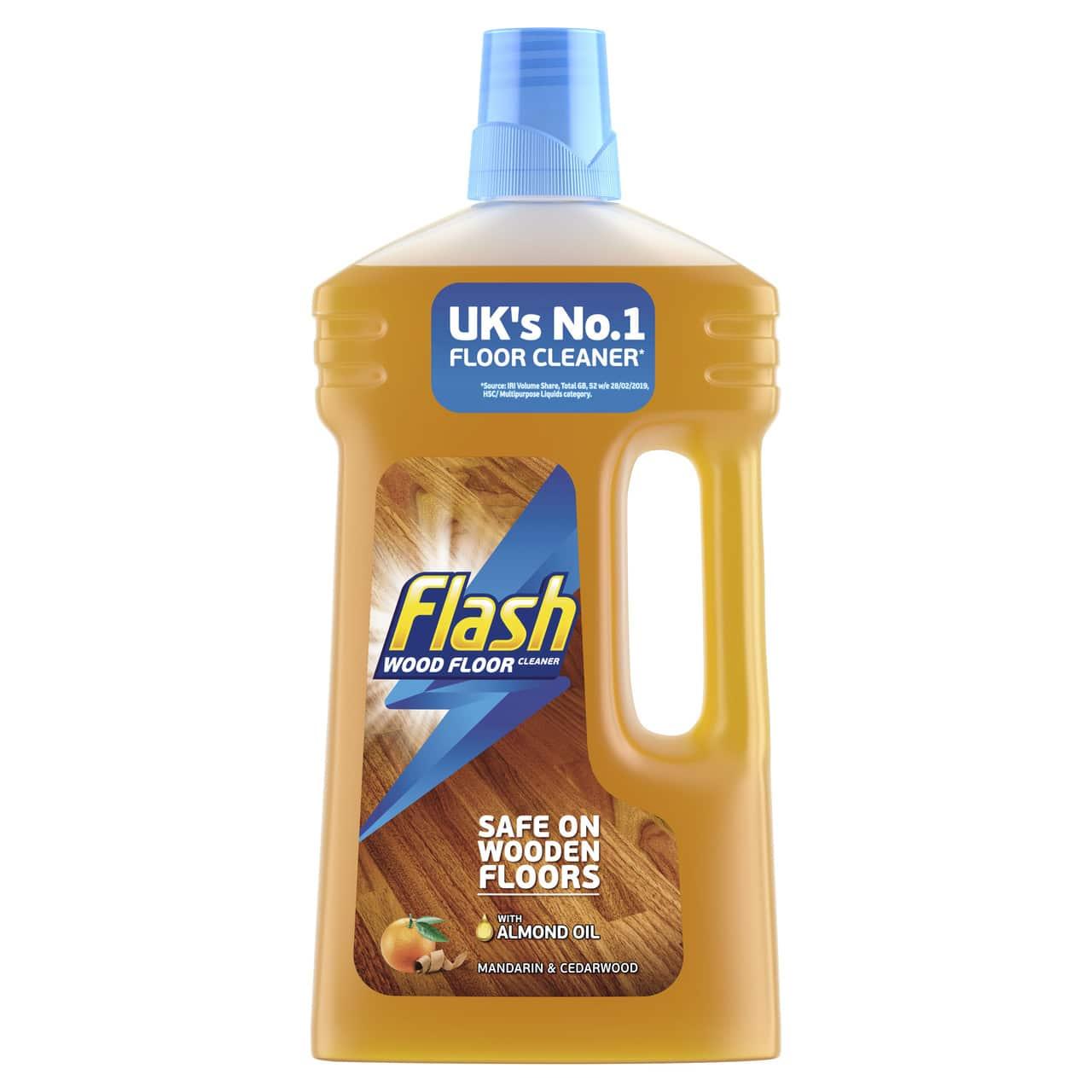 FLASH PARQUET CLEANER LIQUID 1L