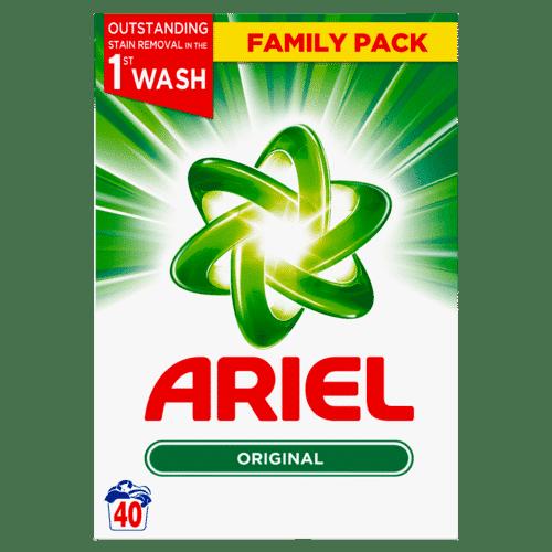 ARIEL REGULAR, 40 WASHES, 2.6KG