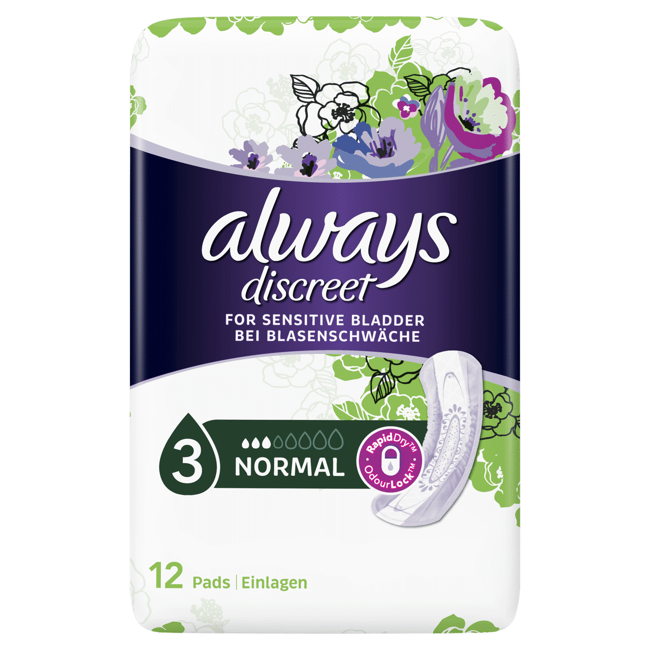 ALWAYS DISCREET NORMAL BY 12 (NEW)