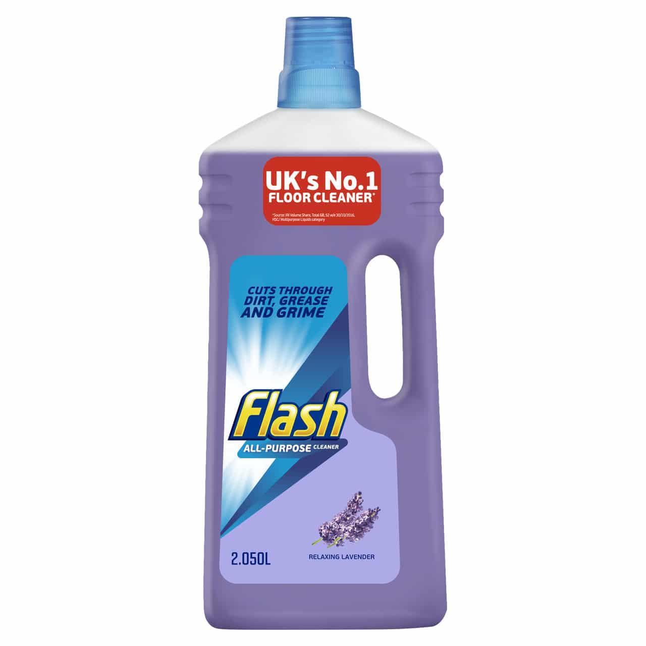 FLASH ALL PURPOSE CLEANER LIQUID  RELAXING LAVANDER 2.05L